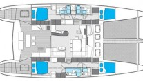 Sunreef 62 BLAZE II  -  Layout