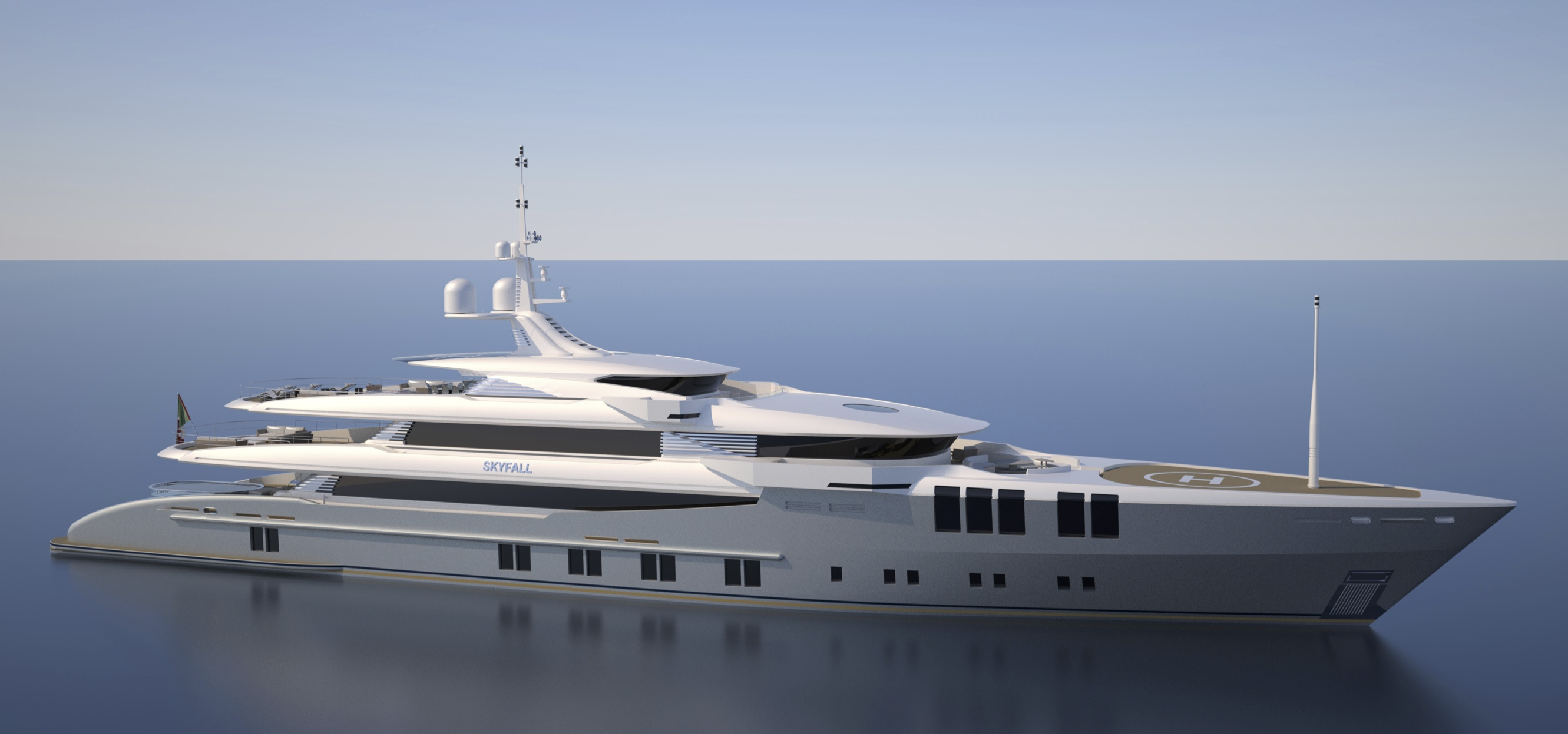 Motor Yacht Project SKYFALL (N681) - a Sunrise Superyacht