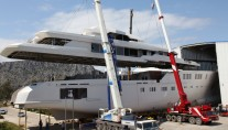 Sunrise-motor-yacht-Project-601-Hull-Superstructure-Integration