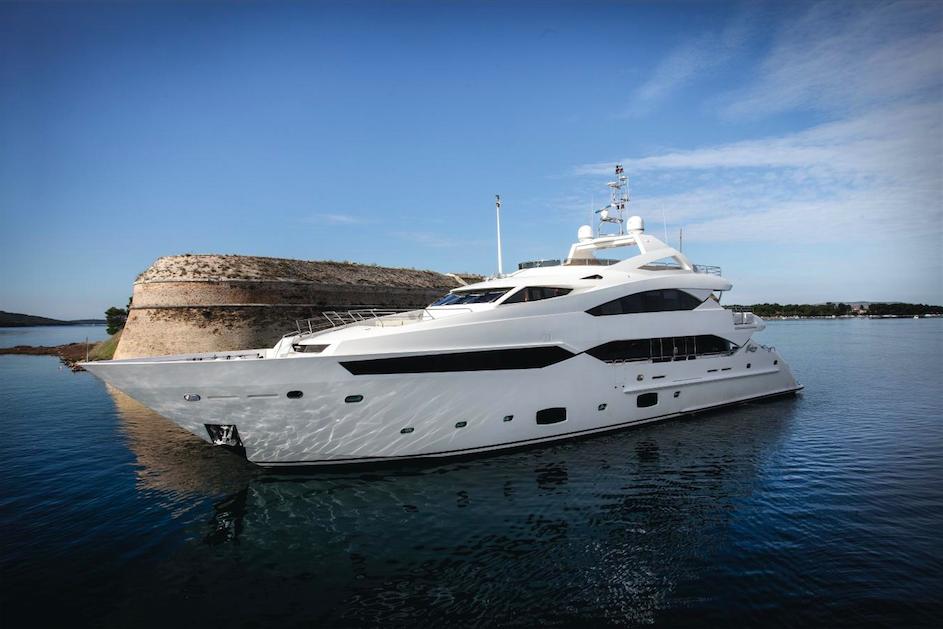 Yacht PRINCESS K A Sunseeker 40M Superyacht