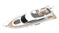 Sunseeker Manahttan 63 SuperYacht - Image courtesy of Sunseeker