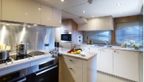 Sunseeker Predator 130 Yacht - Galley