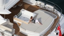 Sunseeker Predator 130 Yacht Birds View