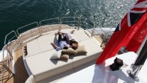 Sunseeker Predator 130 Yacht View from Above