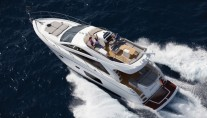 Sunseeker Yacht FAB 2 -  From Above