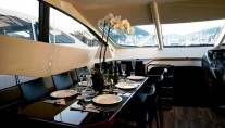 Sunseeker Yacht LAZY P -  Formal Dining