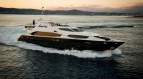 Motor yacht  Black and White