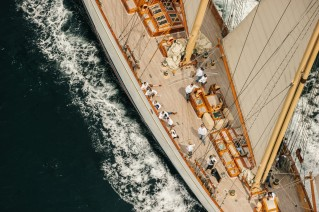 Super Yacht Adix - Photo Nick Bailey