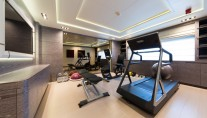 Super Yacht O'PARI3 - Gym