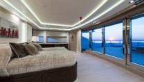 Super Yacht O'PARI3 - Master suite view