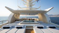 Super Yacht O'PARI3 - Sundeck and Jacuuzi