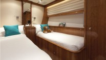 Super Yacht THIS IS US (ex SKYLGE) - Twin Cabin