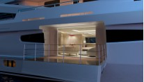 Super yacht AMELS 188 - Owners Balcony