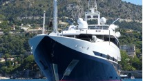 Super yacht Double Trouble - front view-001