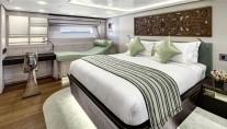 Super yacht Escapade - Cabin - Photo by Chris Lewis