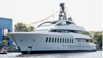 Super yacht HALO just launched