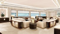 Super yacht OPari3 - Main salon