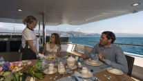 Super yacht THE WELLESLEY - Alfresco dining