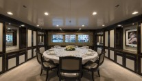 Super yacht THE WELLESLEY - Formal dining