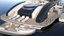 Super yacht ZENITH - aft view