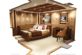 Super yacht ZanZibas luxury interior