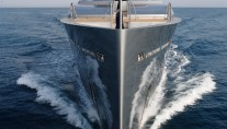 SuperYacht Exuma On water - photo courtesy of Perini Navi