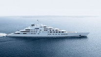 Superyacht AZZAM by Lurssen - side view