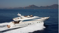 Superyacht Amer 92 - side view