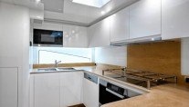 Superyacht AmerCento - Galley