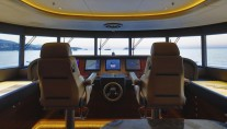 Superyacht Apostrophe - Wheelhouse