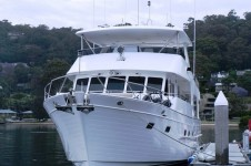 Superyacht Aroona Outer Reef 70 vessel