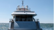 Superyacht Belongers - aft view