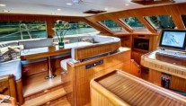 Superyacht CABOCHON interior - Fountaine Design Group