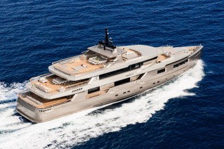 Superyacht Cacos V - upview