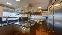 Superyacht Calliope - Galley