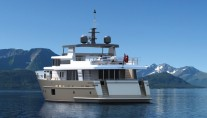 Superyacht Continental Trawler 28.00 - aft view