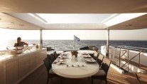 Superyacht E&E Top Sun Deck and Dining