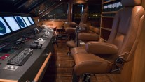 Superyacht Eileen - Wheelhouse