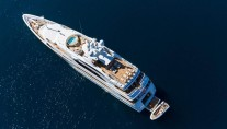 Superyacht GALAXY -  From Above