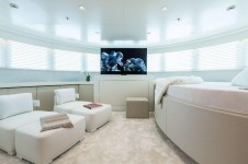 Superyacht GALAXY -  Owners Cabin