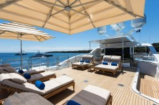 Superyacht GALAXY -  Sundeck