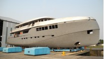 Superyacht Green Voyager - side view