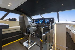 Superyacht JANGADA - Wheelhouse