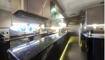 Superyacht Keyla - Galley