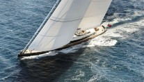 Superyacht Kokomo Sailing