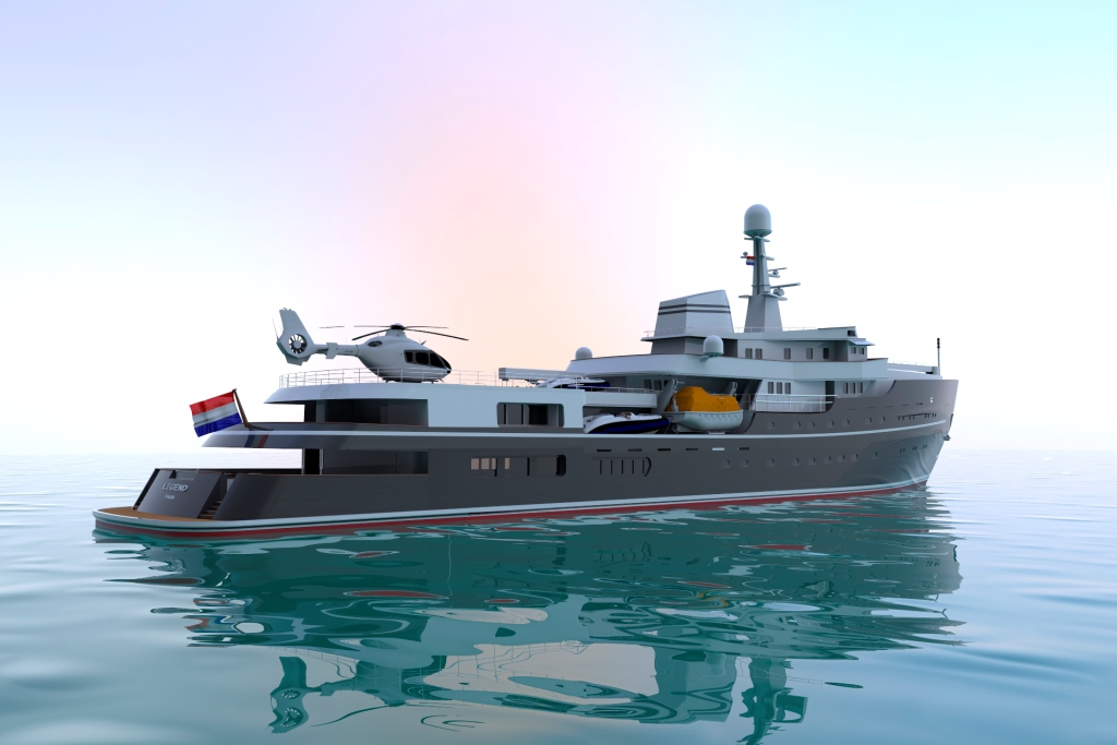 Expedition For Sale >> Luxury Motor Yacht LEGEND (ex Giant) - Expedition Yacht