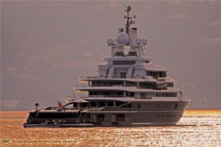Superyacht Luna - French Riviera - Antibes - Photo by Ric Pilguj