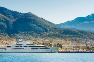 Superyacht MARYAH - Photo by Porto Montenegro