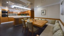 Superyacht Majesty 135 - Galley