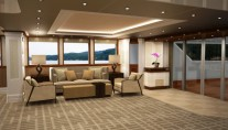 Superyacht Monarch Main Salon